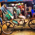 Dhaka by rickshaw
