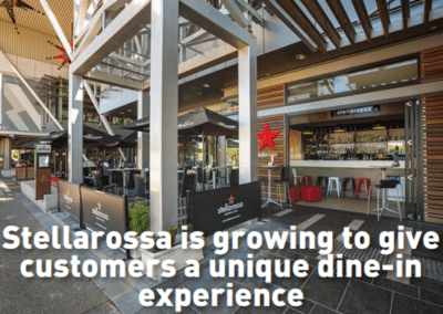 Stellarossa is growing to give customers a unique dine-in experience