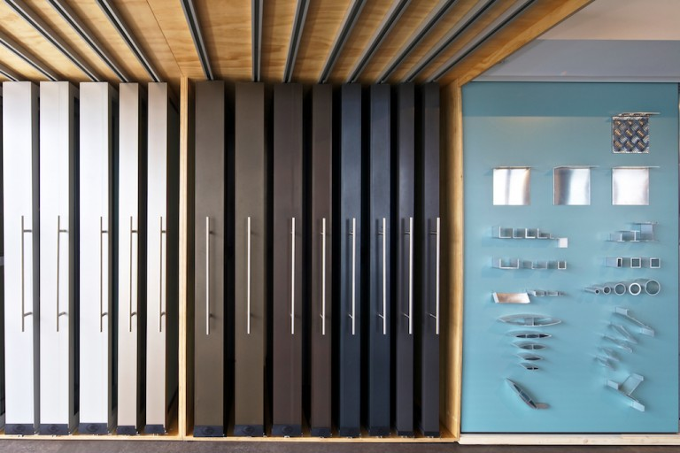 Interpon Partners with Architectural Market Supplier Giants to Create Award-Winning Showroom