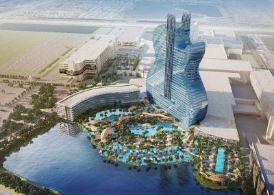Hard Rock's giant, guitar-shaped new hotel