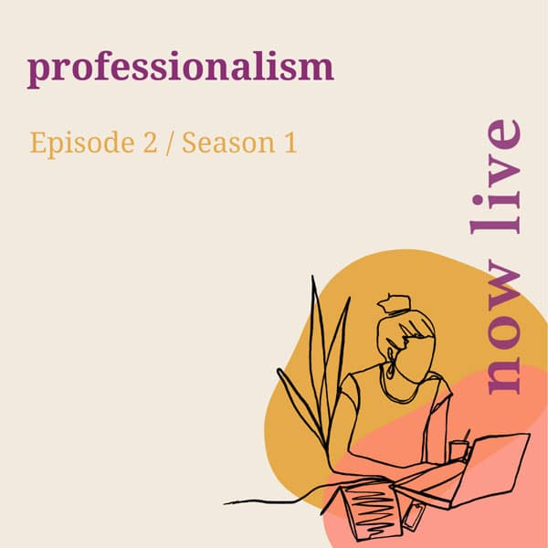 What does being professional look like for a small business?