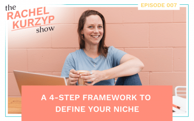 Episode 7: A 4-step framework to define your niche
