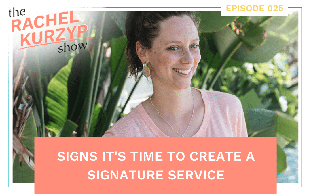 Episode 25: Signs it's time to create a signature service