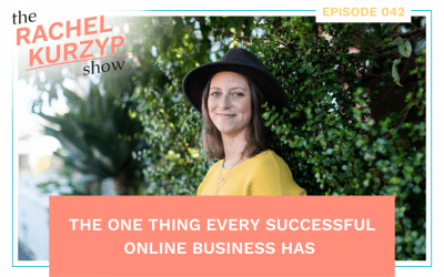 Episode 42: The one thing every successful online business has